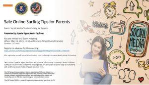 FBI Tampa - Safe Online Surfing Tips for Parents
