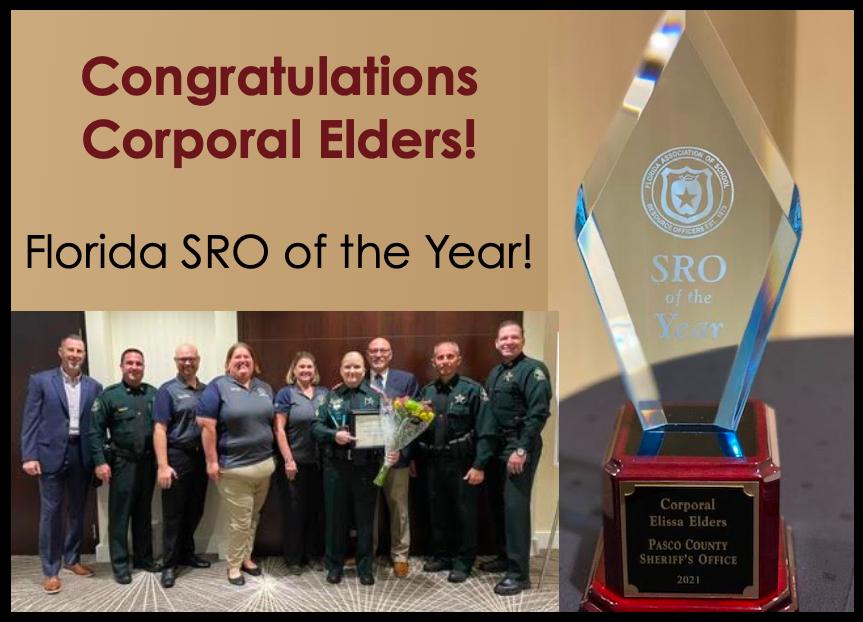 Congratulations Corporal Elders!