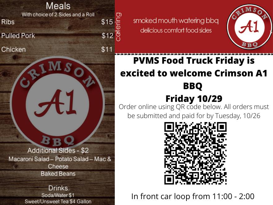 Food Truck Friday – Crimson A1 BBQ